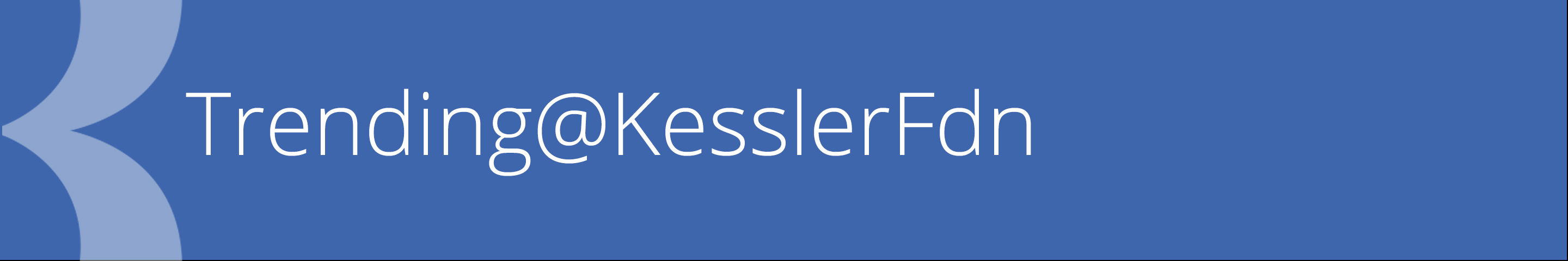 trending at kessler foundation