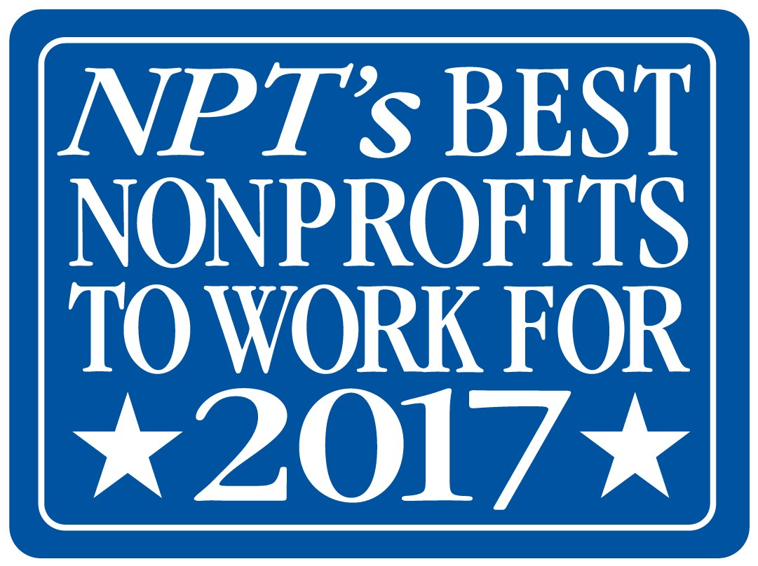 NPT's Best Non profits to work for 2017