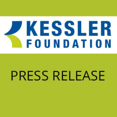 press release icon green with kessler foundation logo