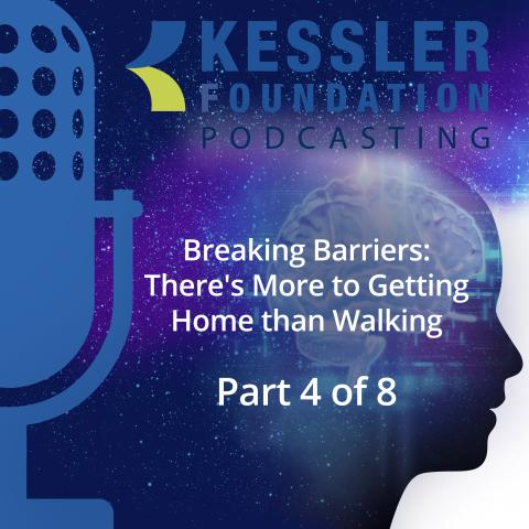 Kessler Foundation podcast poster frame