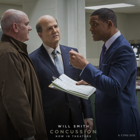 Foundation scientists preview the film Concussion