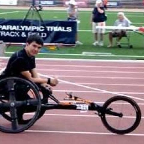 Raymond Martin Wins all Gold in First Paralympics