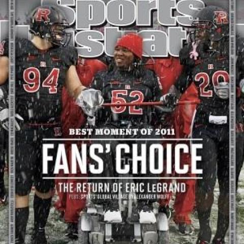 Eric LeGrand Makes History