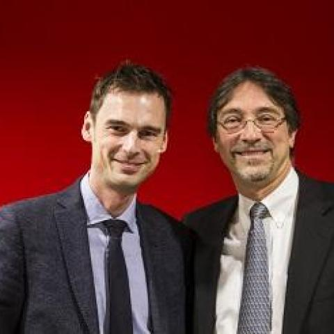 Prof. Jeroen Geurts with Dr DeLuca