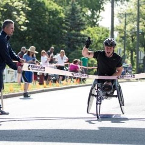Six Countries Represented in the 2014 Kessler Foundation Wheelchair 10K