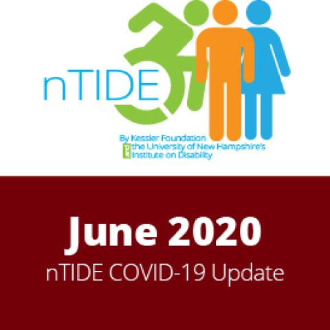 nTIDE COVID Info-graphic with text and images