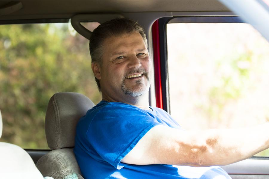 robert who had a stroke learned to drive again